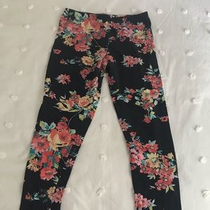 Deb Full Length Floral Pattern Leggings
